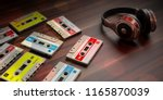 1970s 1980s party music....   Shutterstock . vector #1165870039
