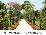gardens at the citadel of hue ...   Shutterstock . vector #1165886743