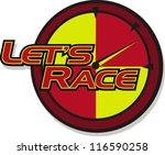 race   Shutterstock .eps vector #116590258