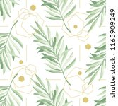 vector seamless pattern with... | Shutterstock .eps vector #1165909249