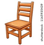 Vector Illustration Of Chair O...