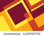 abstract retro and geometric... | Shutterstock .eps vector #1165935793