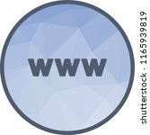 web  website  www   Shutterstock .eps vector #1165939819