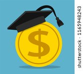 education fee concept ... | Shutterstock . vector #1165948243