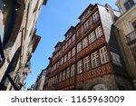 rennes  france   june 27  2018  ... | Shutterstock . vector #1165963009