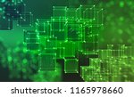 blockchain technology.... | Shutterstock . vector #1165978660