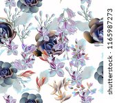 Floral Vector Pattern With...
