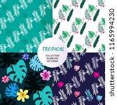 beautiful seamless patterns... | Shutterstock .eps vector #1165994230