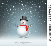 Merry Christmas Snowman...