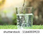 water of glass | Shutterstock . vector #1166003923