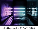 3d render. geometric figure in... | Shutterstock . vector #1166013076