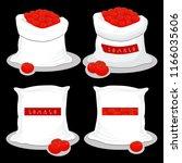 vector illustration for bags... | Shutterstock .eps vector #1166035606