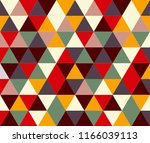 there are many triangles of... | Shutterstock .eps vector #1166039113