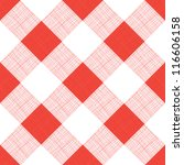 vector seamless picnic... | Shutterstock .eps vector #116606158