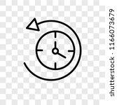anti clockwise vector icon... | Shutterstock .eps vector #1166073679