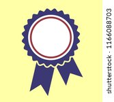 ribbons award template isolated | Shutterstock .eps vector #1166088703