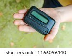 Pagers. old vintage beeper....