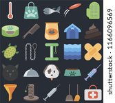 set of 25 icons such as first...