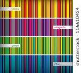 retro seamless stripes pattern... | Shutterstock .eps vector #116610424