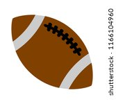 vector american football ball... | Shutterstock .eps vector #1166104960