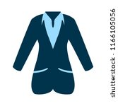 vector business women suit... | Shutterstock .eps vector #1166105056