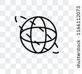 360 degrees vector icon... | Shutterstock .eps vector #1166112073