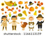 set of illustrations for... | Shutterstock . vector #1166113159