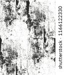 distressed overlay texture of... | Shutterstock .eps vector #1166122330