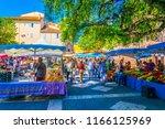 frejus  france  june 16  2017 ... | Shutterstock . vector #1166125969