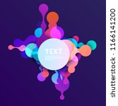bright bubbles with place for... | Shutterstock .eps vector #1166141200