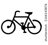 sports bicycle for a ride  | Shutterstock .eps vector #1166143876