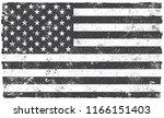 usa flag.grunge american flag. | Shutterstock .eps vector #1166151403
