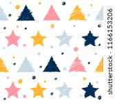 abstract handmade seamless... | Shutterstock .eps vector #1166153206