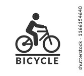 Vector Isolated Bicycle Icon....