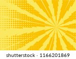 pop art yellow background ... | Shutterstock .eps vector #1166201869
