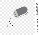 salt shaker vector icon... | Shutterstock .eps vector #1166203033