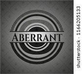 aberrant dark emblem. retro | Shutterstock .eps vector #1166205133