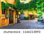 Cozy Old Street In Trastevere...