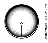 optical sight on a white... | Shutterstock . vector #1166240746