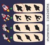 worksheet vector design for kid | Shutterstock .eps vector #1166268346