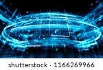 3d render abstract background... | Shutterstock . vector #1166269966