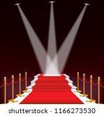 red carpet for celebrities ... | Shutterstock . vector #1166273530
