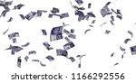 canadian 10 dollar banknotes  ... | Shutterstock . vector #1166292556