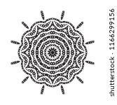 beautiful vector circular... | Shutterstock .eps vector #1166299156