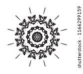 beautiful vector circular... | Shutterstock .eps vector #1166299159