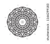 beautiful vector circular...   Shutterstock .eps vector #1166299183