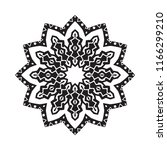 beautiful vector circular... | Shutterstock .eps vector #1166299210