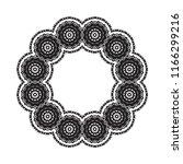 beautiful vector circular... | Shutterstock .eps vector #1166299216