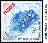 monaco  monaco   nov. 5  1981 ... | Shutterstock . vector #1166301109