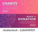 modern vector website banner... | Shutterstock .eps vector #1166345929